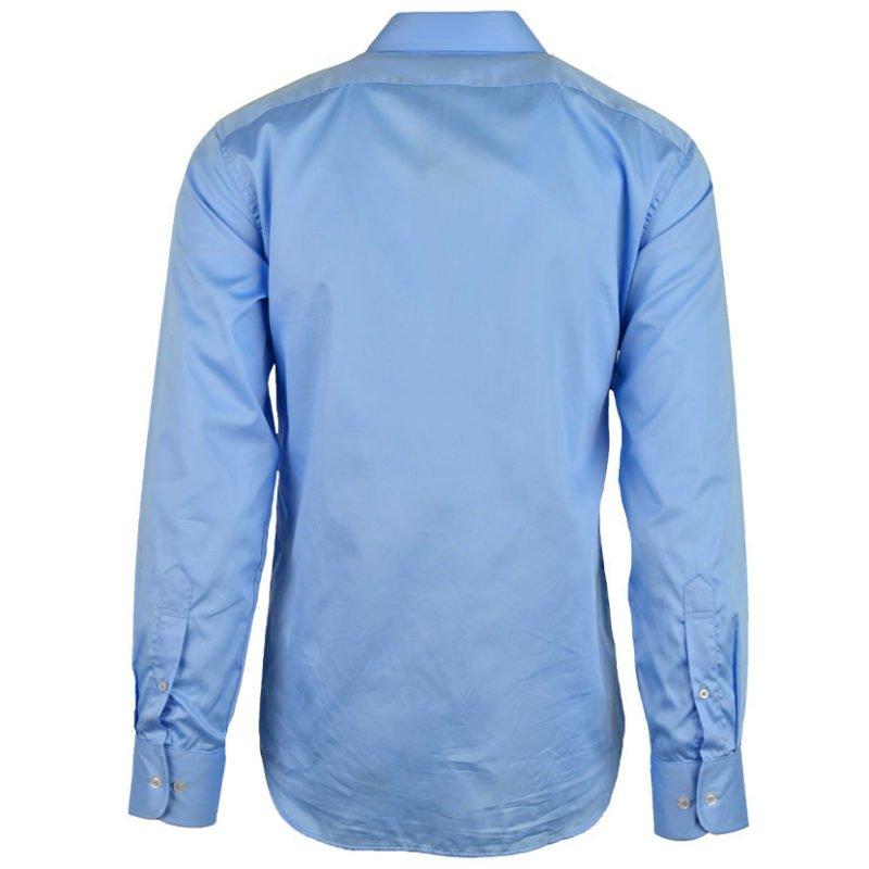 254624 POLO Custom Fit Greig Mens Shirt Blue P6002015110400506 V2