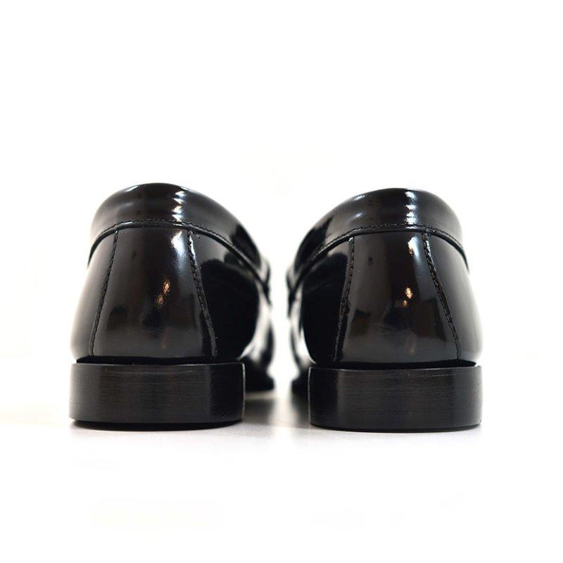 BAS01B BASS WEEJUN ORNAMENT BLACK BA91045E 000 V4