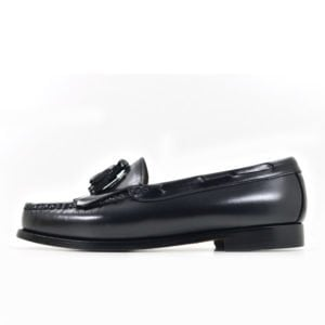 BAS04B BASS Weejun Layton Moc Kiltie Black BLACK BA11020E V1