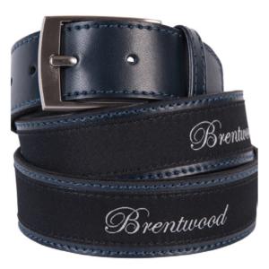 BRE02N BRENTWOOD RIBBON BELT S0503017014100008 NAVY 1