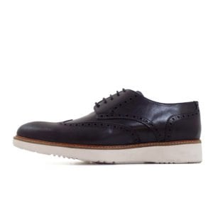 ENR122B ENRICO LEATHER UPPER LINING BLACK ECW21 03 V1