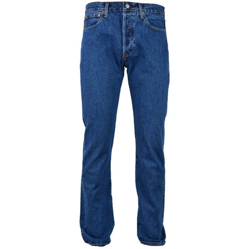 LEV1SW LEVIS 501 STONEWASH JEAN BLUE 00501 0193 V1