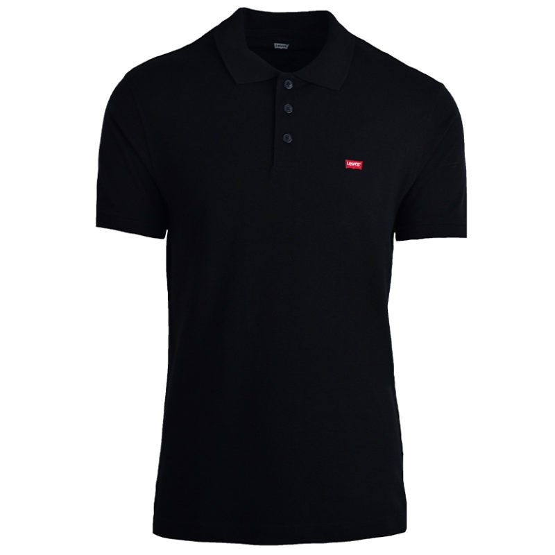 LEV445B LEVIS HOUSEMARK POLO BLACK 32856 0005 V1
