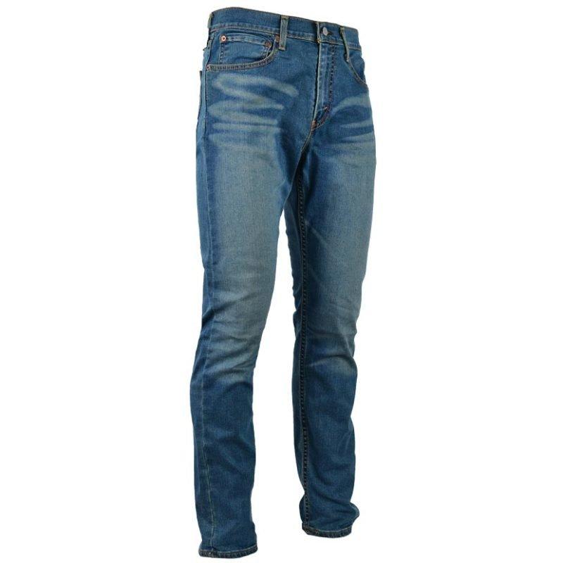 LEV591TO LEVIS TAPER GOLDENROD TINT BLUE 295070001 V3