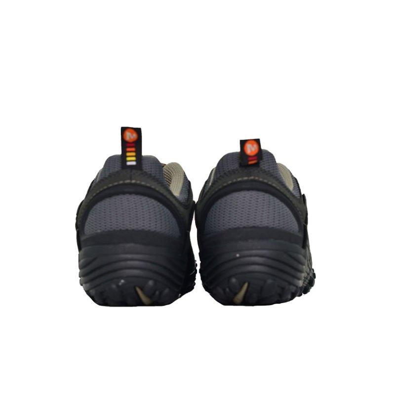MER01B MERRELLM INTERCEPT LEATHER SHOE BLACK J73703 V4