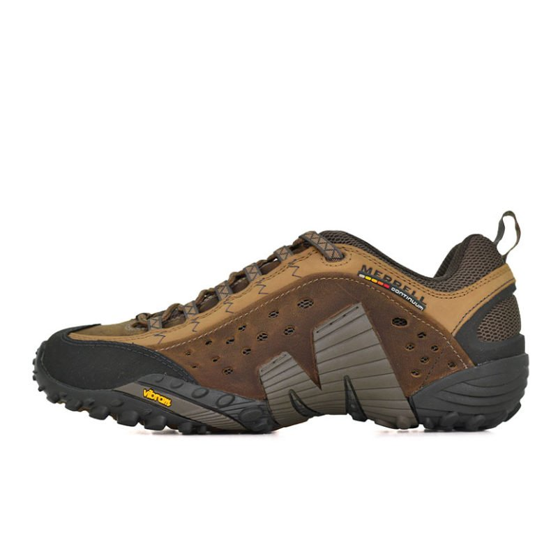 MER01BR INTERCEPT LEATHER SHOE BROWN J73705 V1