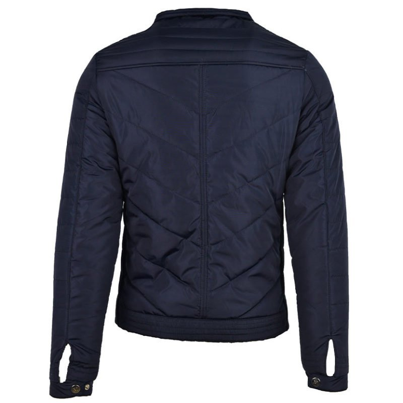 MUR38N MURATTI PETER QUILTED JACKET NAVY V2