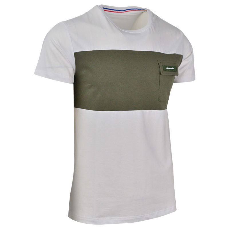 PCW PIERRE CARDIN POCKET T COT STRETCH WITH CARGO WHITE PC V