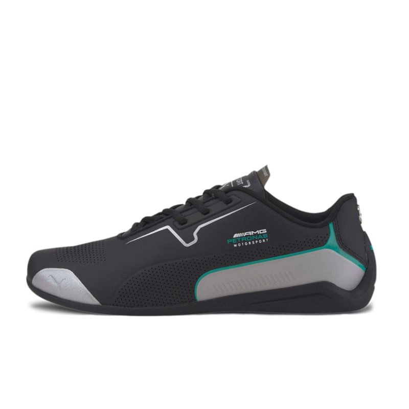PMA2216B PUMA MERCEDES DRIFT CAT 8 BLACK SILVER 30650201 V1