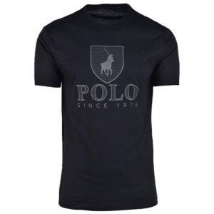 POL337B POLO CORY CREST CREW NECK BLACK P6002015110100490 V1