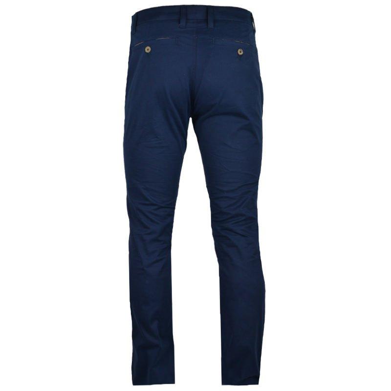 POL340N POLO MEN ALEXANDER COTTON STRETCH STRAIGHT LEG CHINO NAVY P6002015211310303 V2