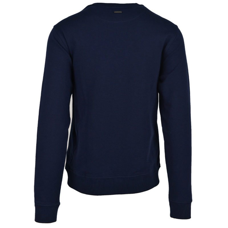 POL367N POLO MNS WILL DEBOSSED SWEAT NAVY P6002015116400106 V2