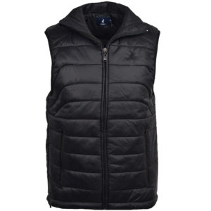 POL403B POLO JEROD SL QUILTED PUFFER BLACK P6002015110950115 V1