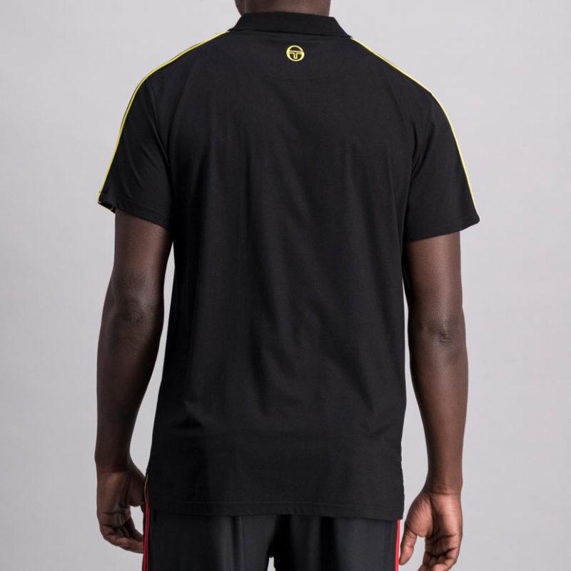 SER110AN SERGIO TACCHINI Jacquard Sleeve BLACK ST MA 0063 V4