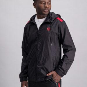 SER115AN SERGIO TACCHINI acquard Inset Jacket BLACK ST MA 0070 V1