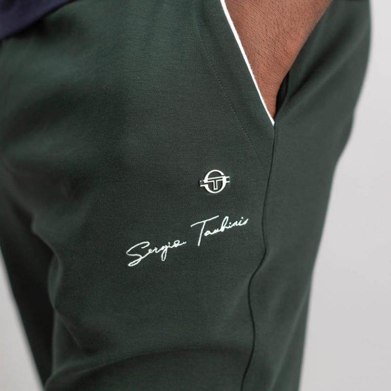SER83GR SERGIO TACCHINI SIGNATURE TRACK PANTS GREEN 2