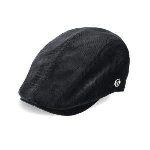 SER84AN SERGIO TACCHINI FLAT CAP ANTHRACAITE BLACK STW21 061C V1