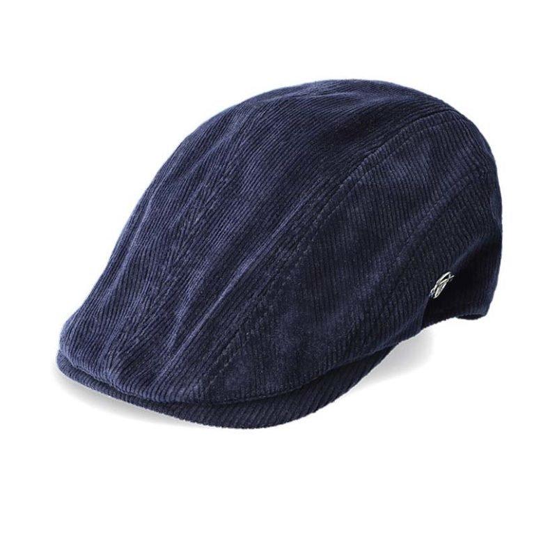 SER84NS SERGIO TACHINNI FLAT CAP NIGHT SKY NAVY STW21 061C V1
