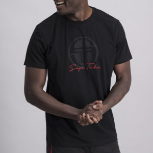 SERAN Chest Logo Crew Neck T shirt ST MA TV