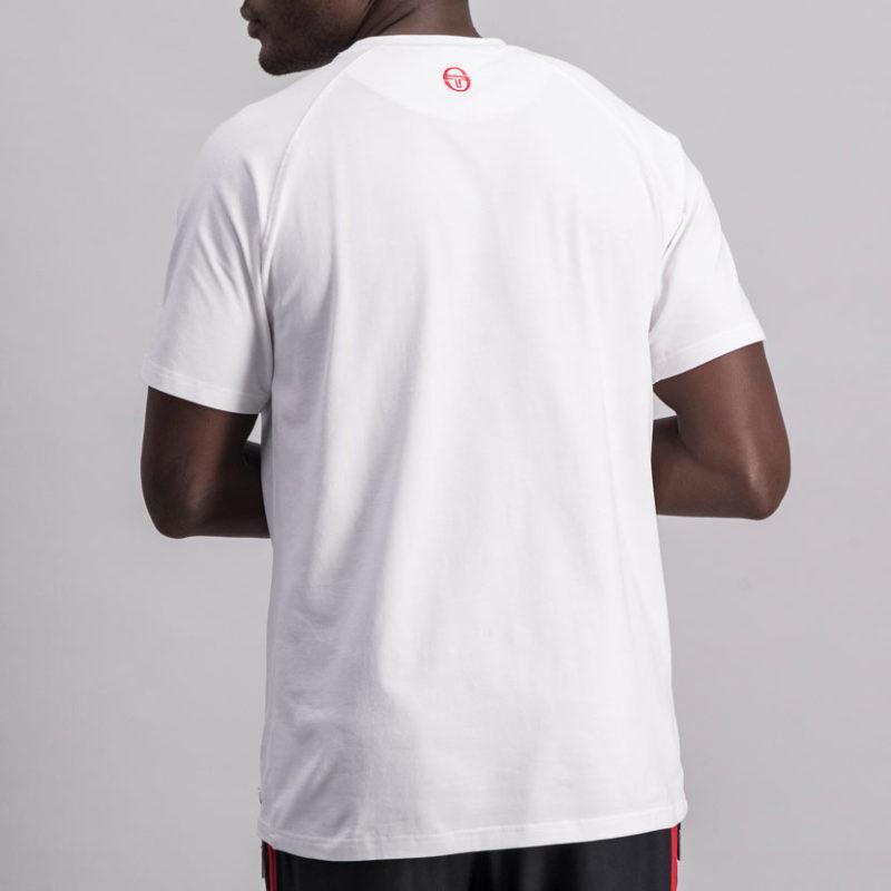SER94W SERGIO TACCHINI Hem Logo WHITE ST MA 0059 V4