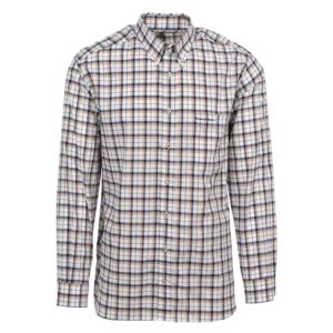 TMBBE THOMAS BENNO CLASSIC FIT COMFORT CHECK BEIGE SS V